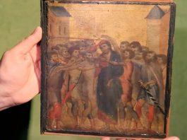 Il Cristo deriso di Cimabue ritrovato nel nord della Francia
