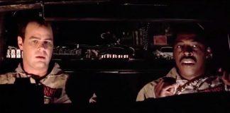 Dan Aykroyd ed Ernie Hudson in Ghostbusters