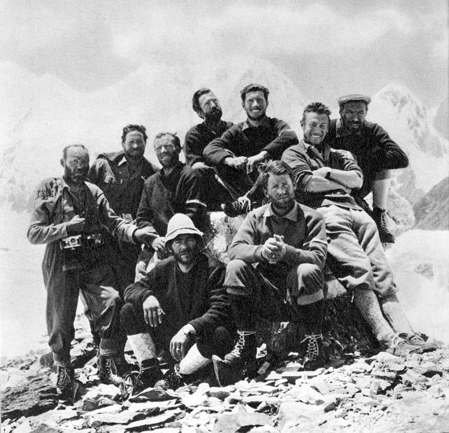 La spedizione italiana al Gasherbrum IV nel 1958