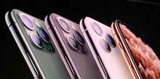 Gli iPhone 11 Pro presentati da Apple