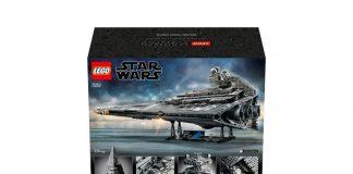 L'Imperial Star Drestroyer di Star Wars nella versione LEGO