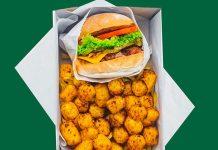 Uno dei menù di Neat Burger