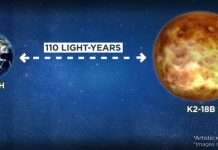Sul pianeta K2-18b è stata trovata l'acqua