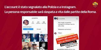 La Roma ha vietato lo stadio a un suo tifoso razzista