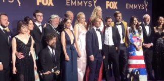 Il cast de Il trono di spade alla premiazione degli Emmy 2019