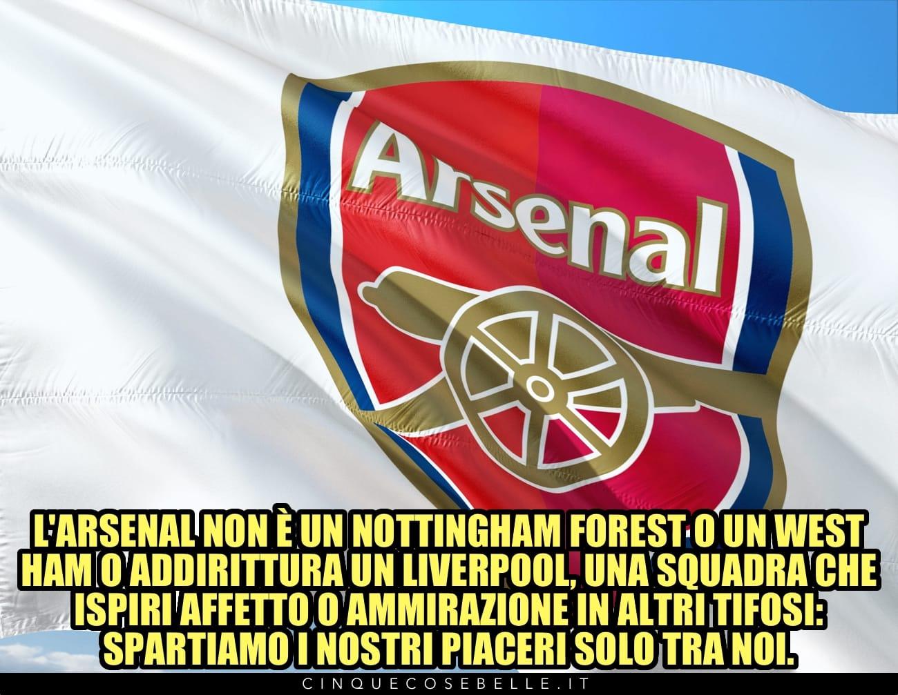 Tifare l'Arsenal per Nick Hornby