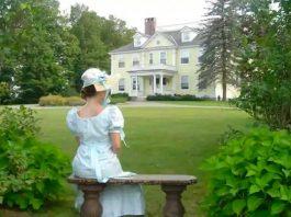 La casa che ospita i Jane Austen Weekends