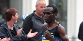 Eliud Kipchoge (foto di The Wolf via Flickr)