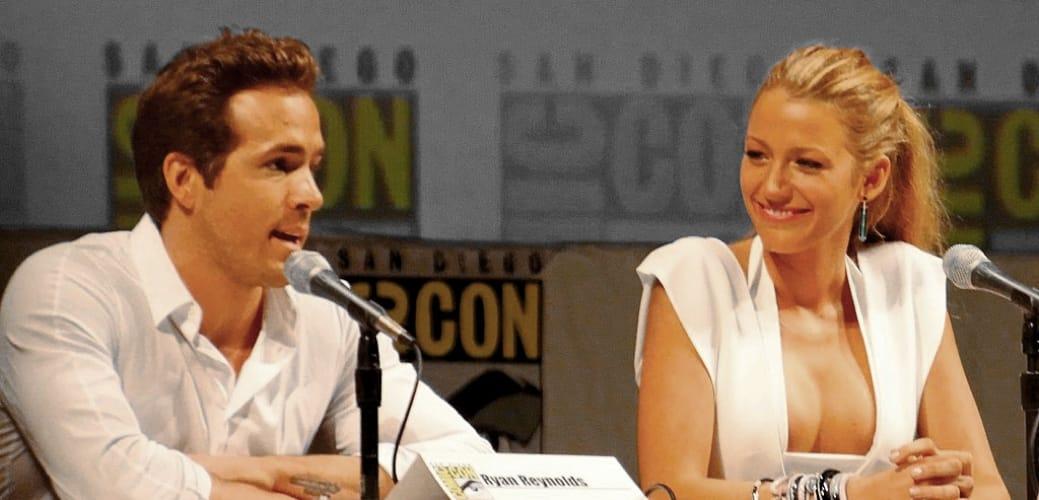 Ryan Reynolds e Blake Lively (foto di Ronald Woan via Flickr)