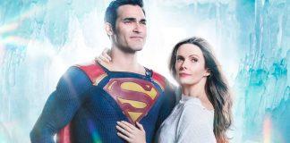 Superman e Lois Lane interpretati da Tyler Hoechlin e Elizabeth Tulloch