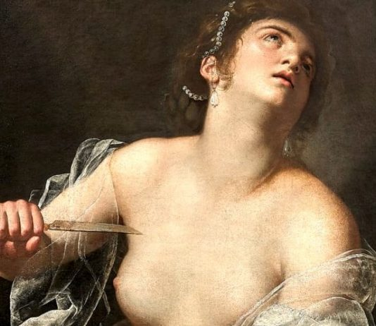 Lucrezia di Artemisia Gentileschi