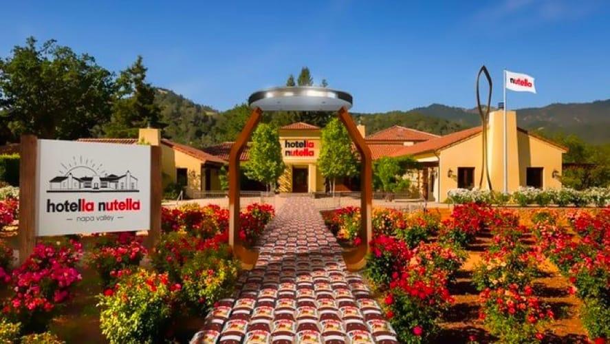 L'albergo Hotella Nutella in California