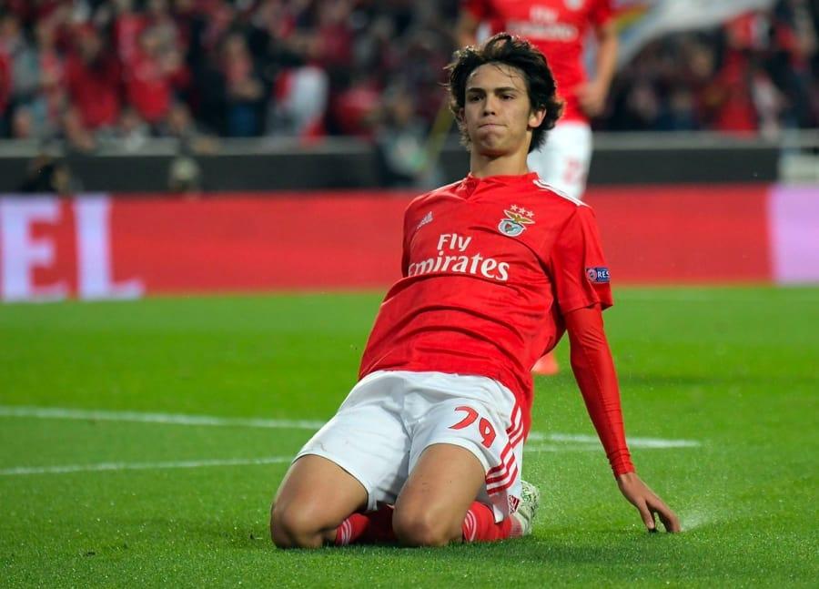 João Félix la notte in cui col Benfica umiliò l'Eintracht Francoforte