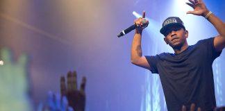 Kendrick Lamar in concerto (foto di Merlijn Hoek via Wikimedia Commons)