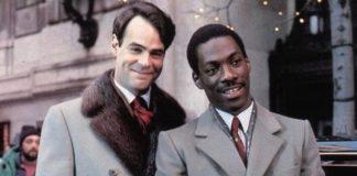 Dan Aykroyd e Eddie Murphy in Una poltrona per due