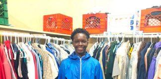 Chase Neyland-Square, il ragazzo che ha raccolto il vestiario per i poveri