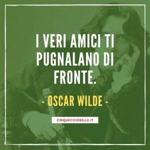 La frase di Oscar Wilde sull'amicizia