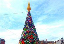 L'albero di Natale all'uncinetto di Trivento