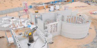 L'edificio costruito a Dubai con la stampante 3D