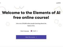 Il sito del corso finlandese sull'intelligenza artificiale