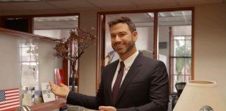 La statua di cera di Jimmy Kimmel