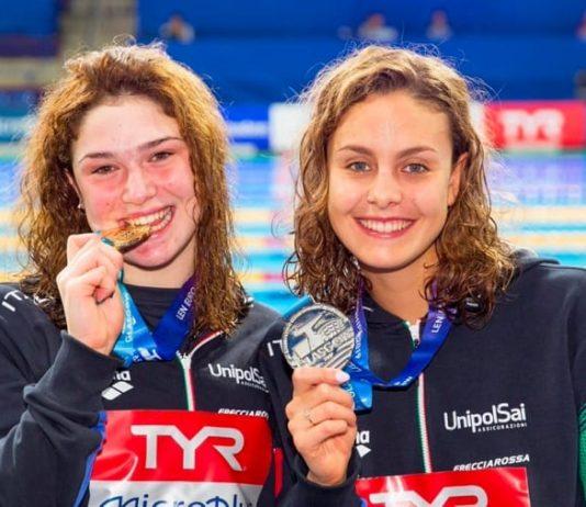 Benedetta Pilato e Martina Carraro, oro e argento