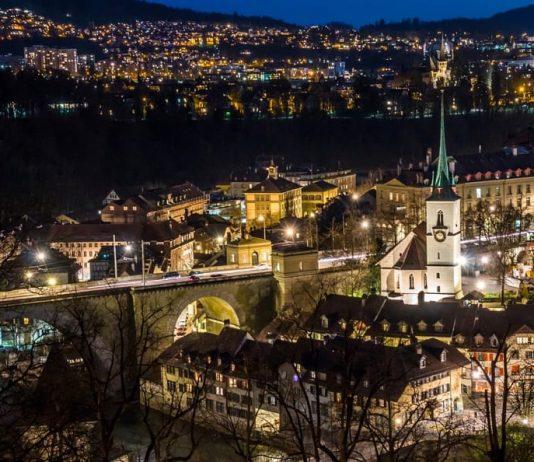 La città di Berna, in Svizzera