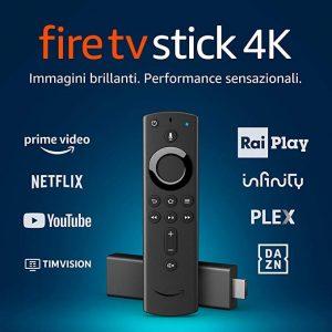 Fire TV stick 4K di Amazon