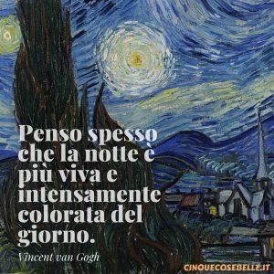 La frasi sulla sera di van Gogh