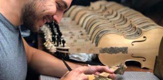Leonardo Frigo e il suo lavoro sui violini