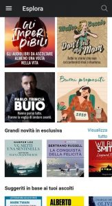 L'app di Audible