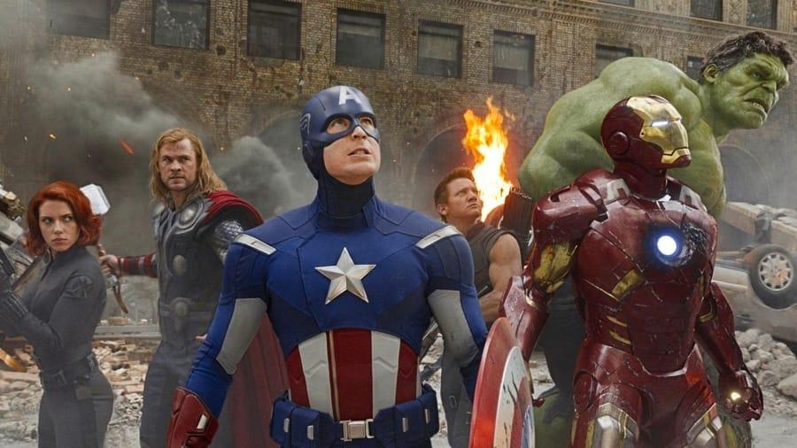 Il cast del primo Avengers