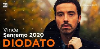 Diodato, vincitore del Festival di Sanremo 2020
