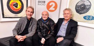 I tre Genesis ospiti di BBC Radio 2