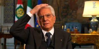 Le piccole gaffe del presidente Mattarella