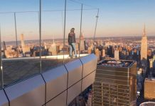 La vista dal The Edge di New York