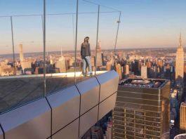 La vista dal The Edge di New York