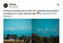 Le foto dell'Himalaya che ha tornato ad essere visibile dall'India per il calo dell'inquinamento