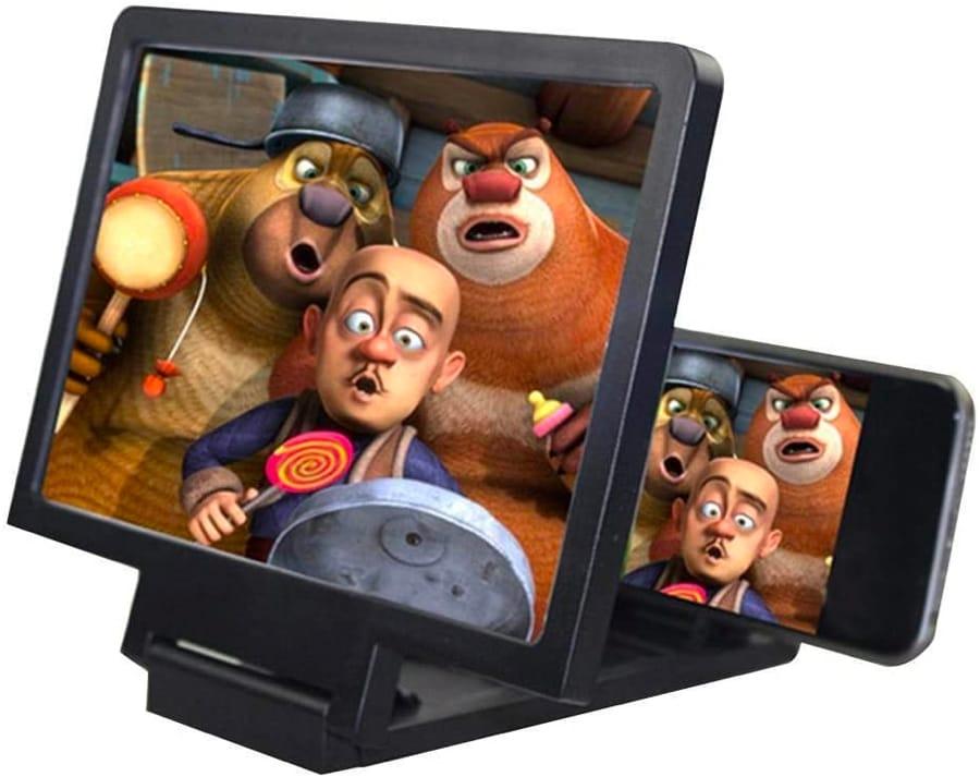 Il magnifier che ingrandisce lo schermo del telefono