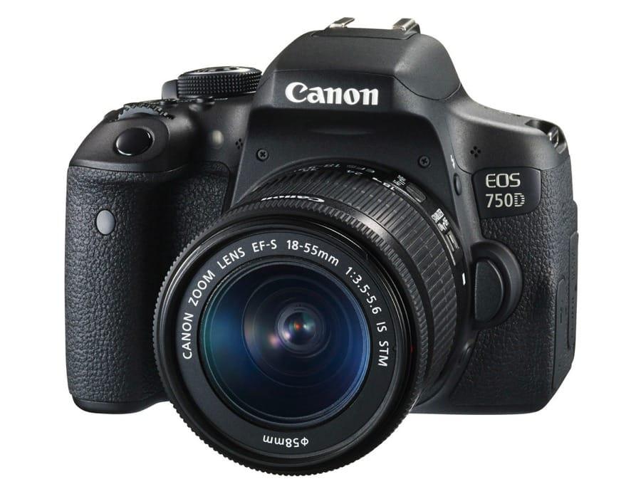 La Canon EOS 750D