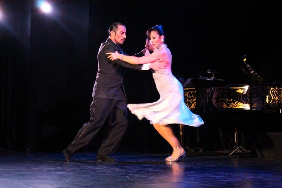 I passi del tango