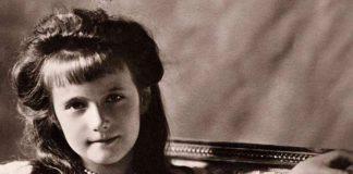 Anastasia Romanov da bambina