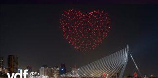 I droni nel cielo di Rotterdam