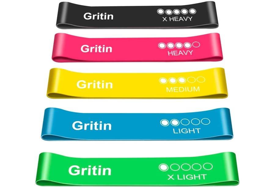 Gli elastici fitness di Gritin