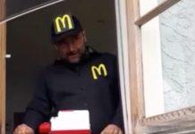 Il McDonald's improvvisato in Nuova Zelanda