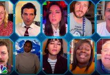 Il cast di Parks and Recreation riunito per la raccolta fondi contro il coronavirus
