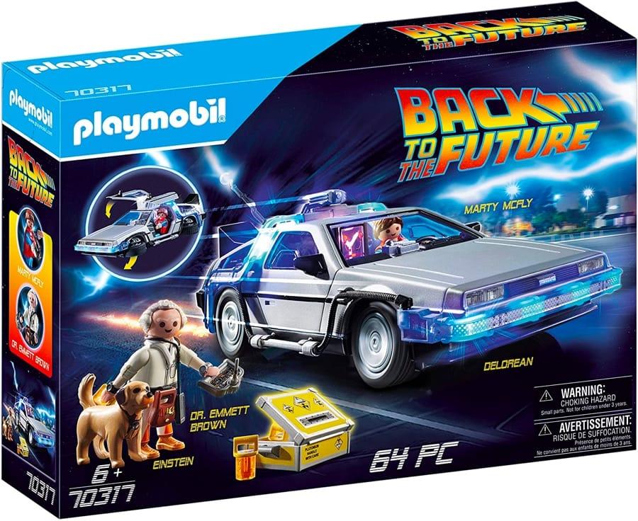 Il set Playmobil di Ritorno al futuro
