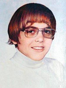 George Clooney da ragazzo
