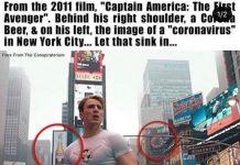 Il post complottista da cui è partita l'indagine su Captain America e il coronavirus