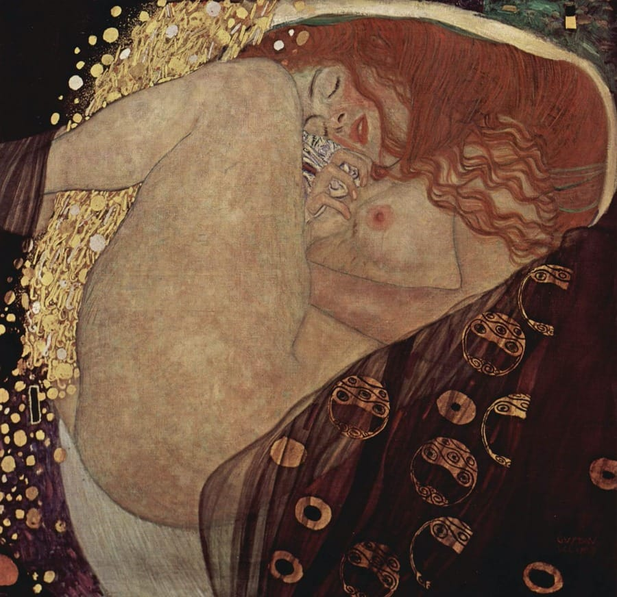 La Danae di Klimt